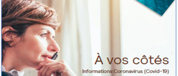 COVID 19 – Un guide d'information édité par AG2R LA MONDIALE